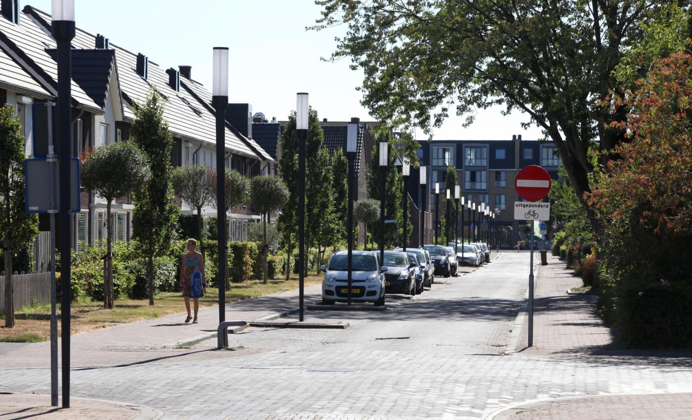 Lowlander mast armatuur Koningstraat Aalsmeer
