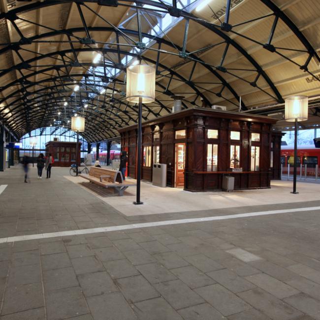 Lampenkap Station Leeuwarden
